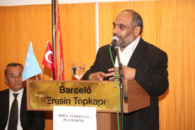 İHH Başkanı Bülent Yıldırım'in Doğu Türkistan toplantısı Resimleri ile ilgili görsel sonucu